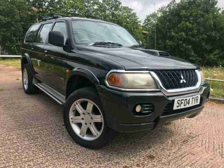 2004 Mitsubishi Shogun Sport 2.5TD Warrior Cheap 4X4 MANUAL low mileage BARGAIN