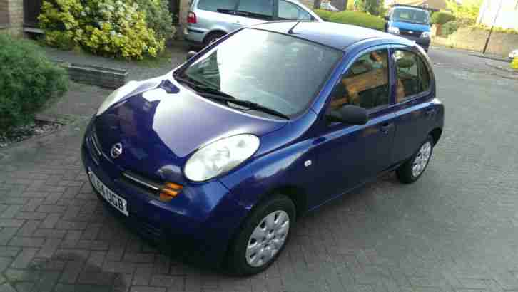 2004 NISSAN MICRA S AUTO (MISFIRE) SPARES OR REPAIRS