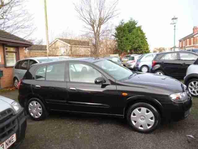 Nissan 2004 Almera 1 5 Se 5dr 5 Door Hatchback Car For Sale