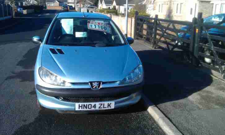 PEUGEOT 206. Perodua car from United Kingdom