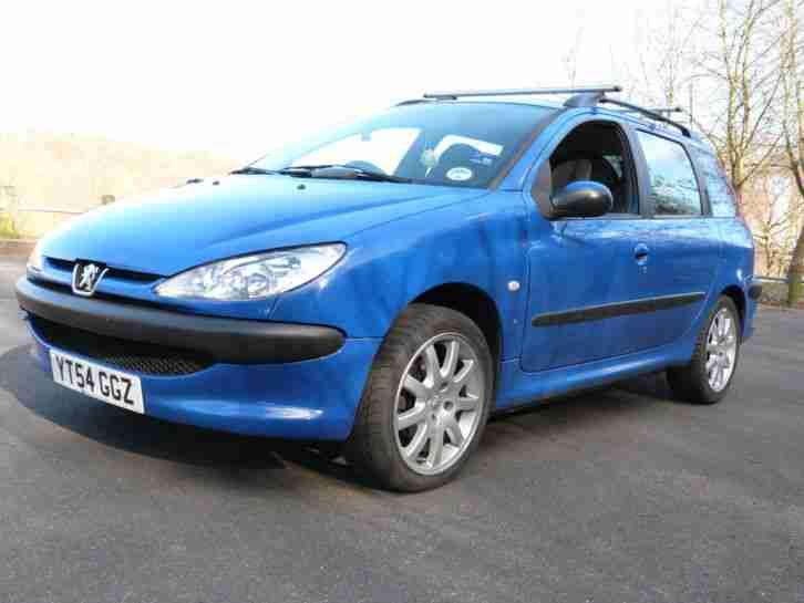 Peugeot 2004 206 SW 1.4 HDI S TD BLUE £30 ROAD TAX 13 MONTHS M.O.T