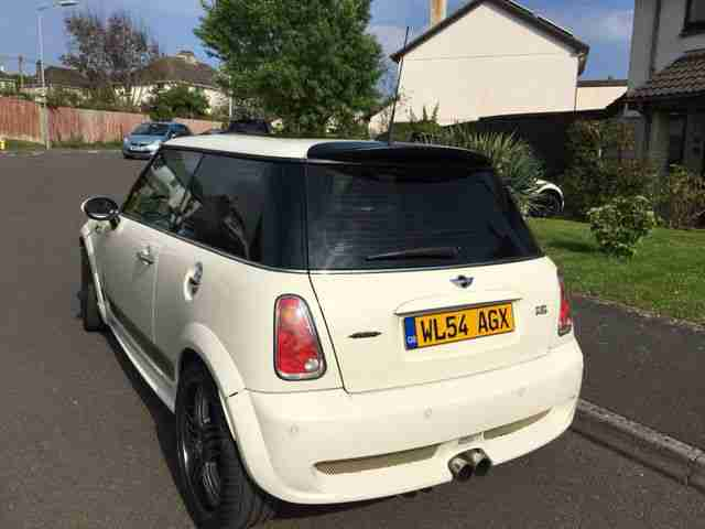 2004 Pepper White Cooper S JCW Upgrade low mileage