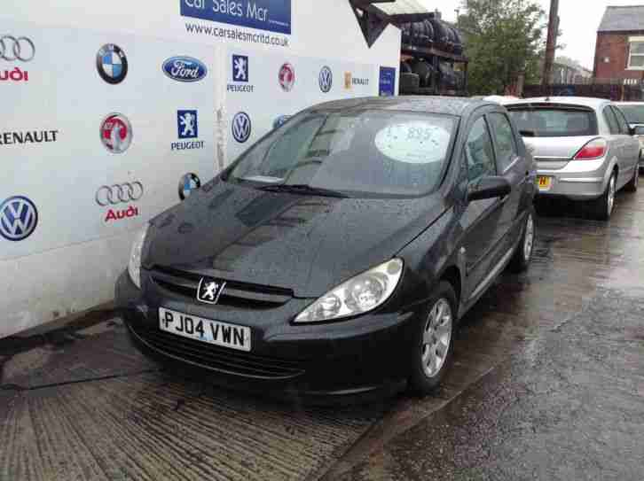 2004 Peugeot 307 1.4 HDi S 5dr (a/c)