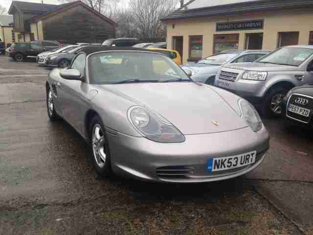 2004 Boxster Roadster 2.7 Only 53996