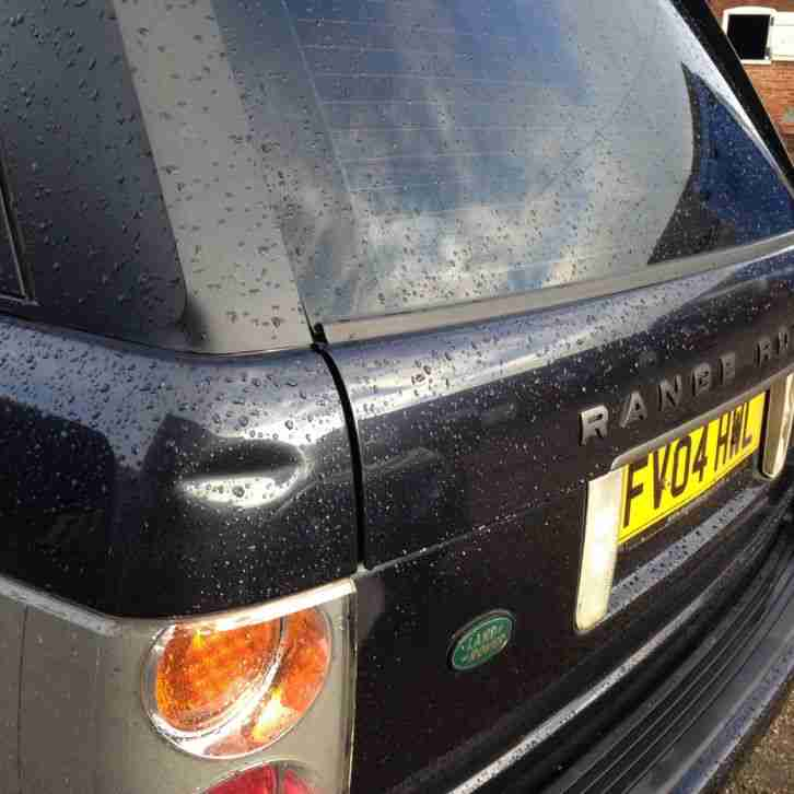 2004 RANGE ROVER VOGUE V8 AUTO BLUE (NON RUNNER as OVER HEATED ) LPG CONVERSION