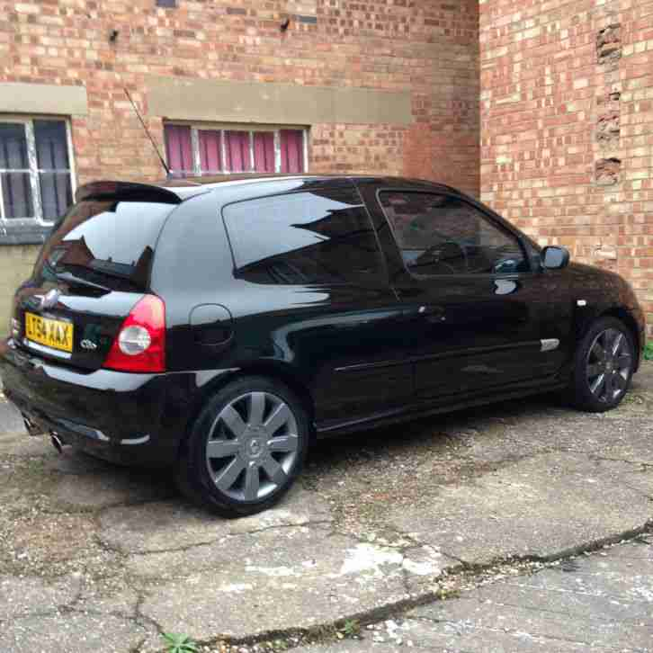 Renault Sport: Renault 2004 CLIO SPORT 182 16V BLACK. Car For Sale
