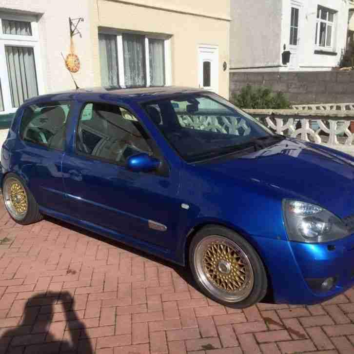 Renault 2004 CLIO SPORT 182 16V BLUE car for sale