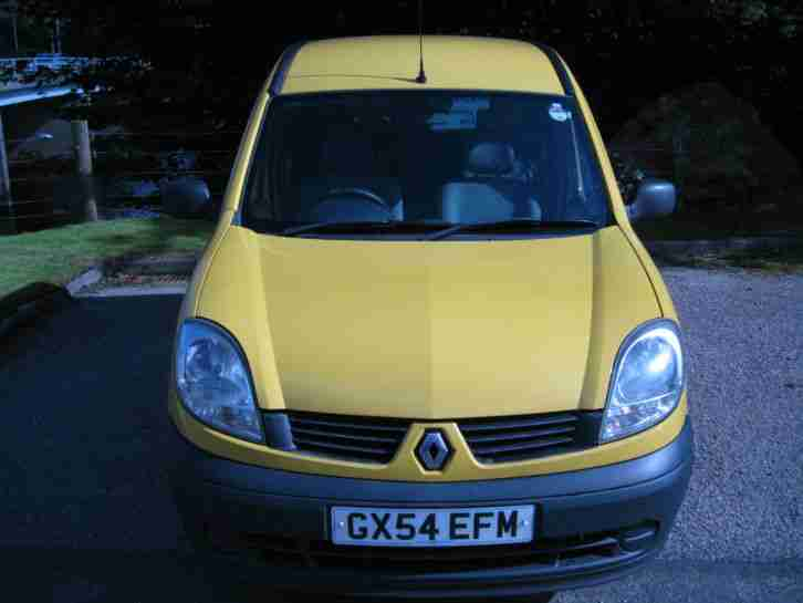 2004 RENAULT KANGOO AUTHENTIQUE 16V YELLOW DISABLED CAR DUAL CONTROLS