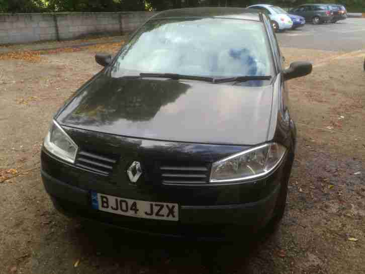 2004 MEGANE AUTHENTIQUE DCI 80 BLACK