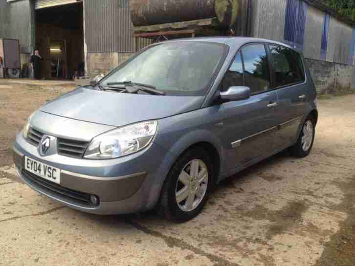 renault 2004 scenic dynamique 1 9 dci 120 blue car for sale. Black Bedroom Furniture Sets. Home Design Ideas