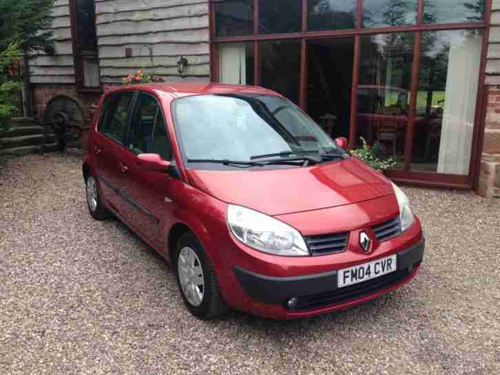 2004 RENAULT SCENIC EXPRESSION DCI 80 RED