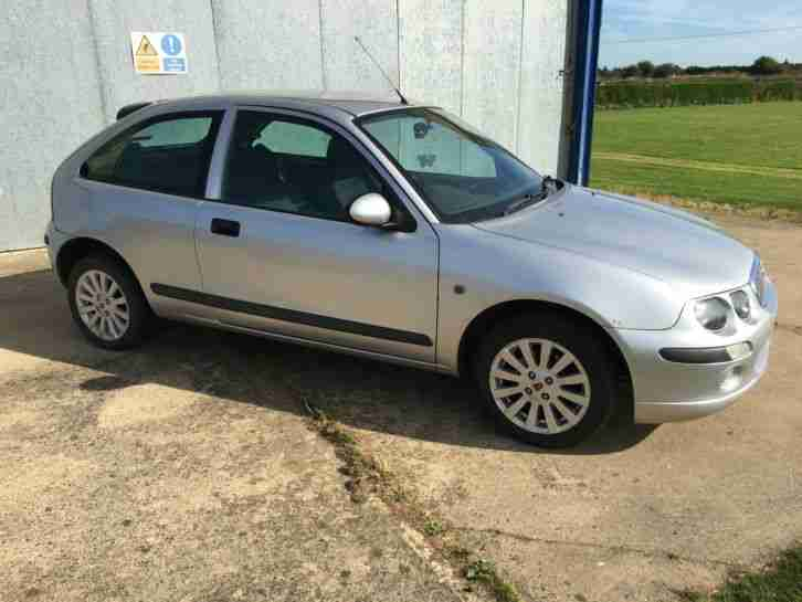 2004 Rover 25 Impression S3 Silver 12 Months Mot Car For Sale