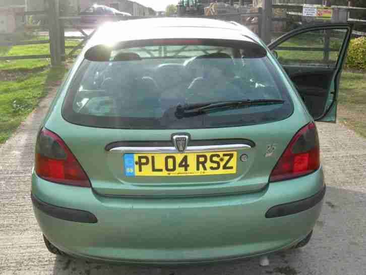 2004 ROVER 25 IMPRESSION S3 TD GREEN