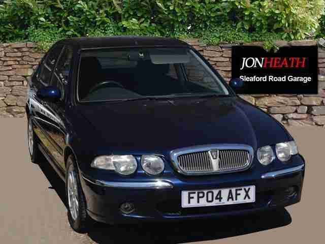 ROVER 45. MG car from United Kingdom