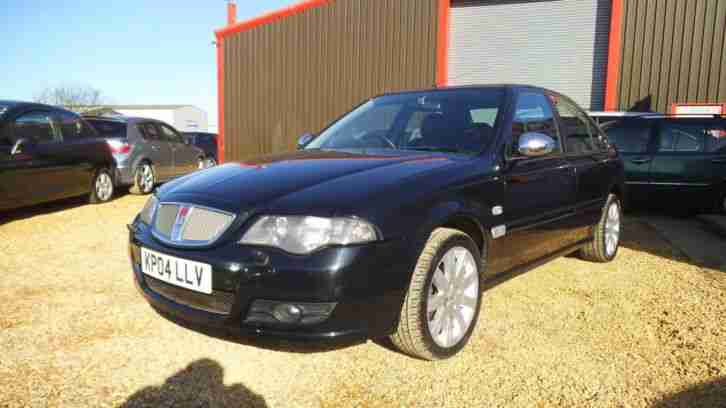 2004 ROVER 45 2.0 TD Connoisseur [113] BLACK LEATHER
