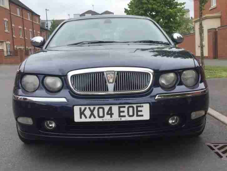 2004 ROVER 75 CONNOISSEUR 2.5. AUTOMATIC PETROL 4 DOOR SALOON
