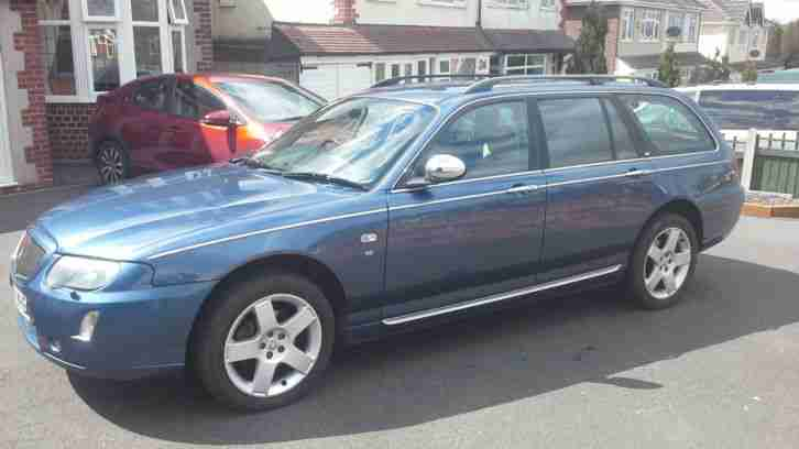 2004 rover 75 connoisseur se v6 auto 2 5 tourer estate low. Black Bedroom Furniture Sets. Home Design Ideas
