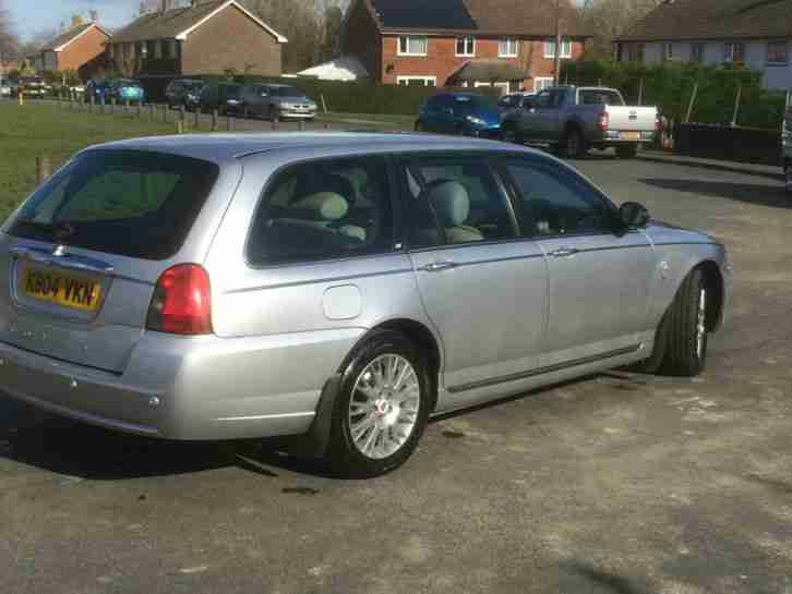 2004 ROVER 75 ESTATE CONNOISSEUR SE V6 TOURER SILVER