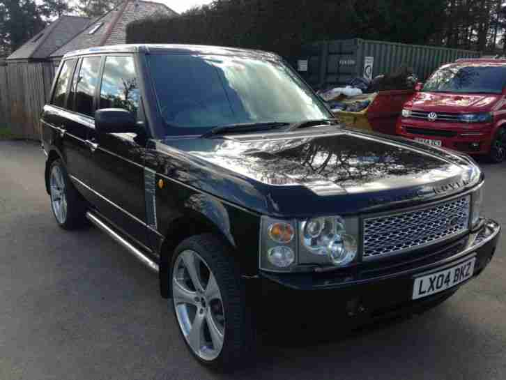 2004 rover range rover black car for sale. Black Bedroom Furniture Sets. Home Design Ideas