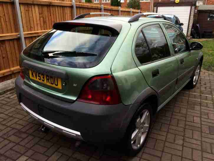 2004 ROVER STREETWISE S , 2.0 turbo diesel, 12 months mot, fsh, cheap car