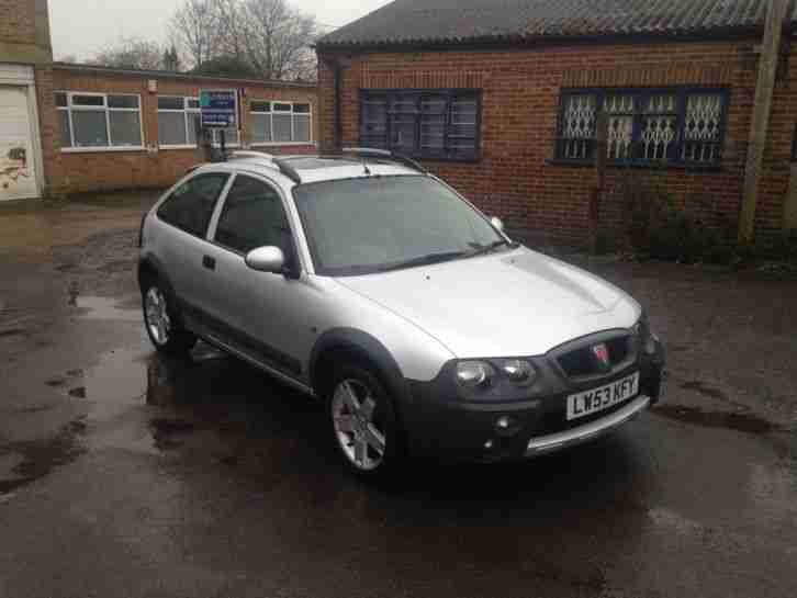 2004 ROVER STREETWISE S SILVER