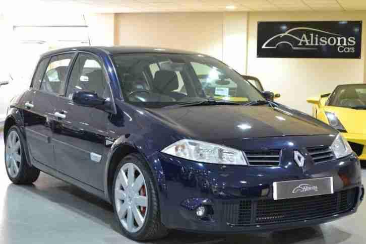 Renault 2004 Megane 2 0 T 16v Sport 225 5dr  Car For Sale