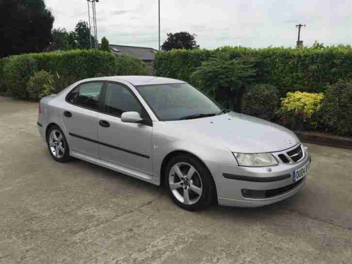 2004 SAAB 9-3 VECTOR 175 BHP SILVER - SPARES or REPAIRS