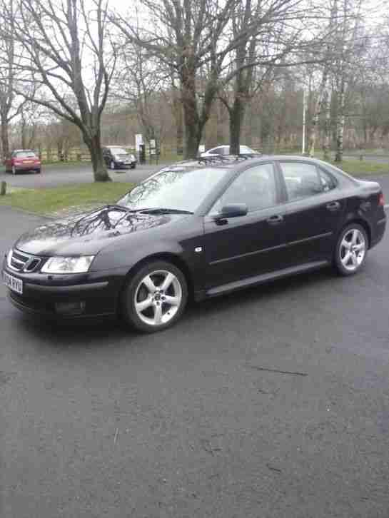 2004 SAAB 9-3 VECTOR TID BLACK.... mint car !!!!!!
