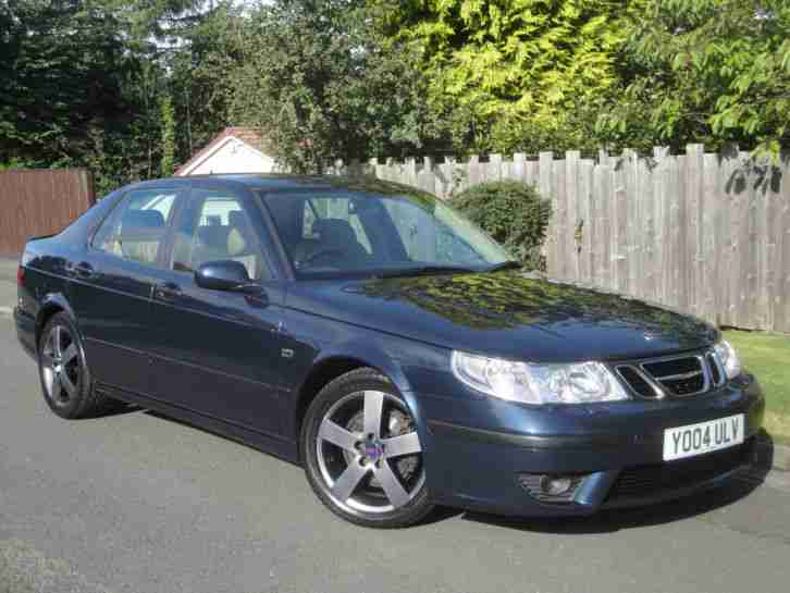 2004 SAAB 9-5 HOT AERO BLUE - ONLY 55,398 MILES - ENTHUSIAST OWNED