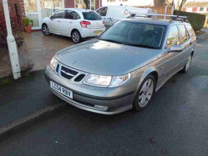 2004 SAAB 9-5 VECTOR AUTO GREY