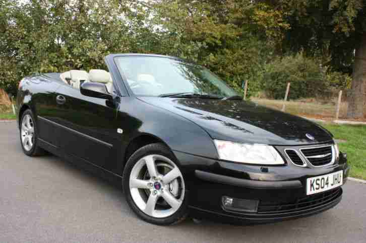2004 93 CONVERTIBLE 1.8T 12MTHS MOT