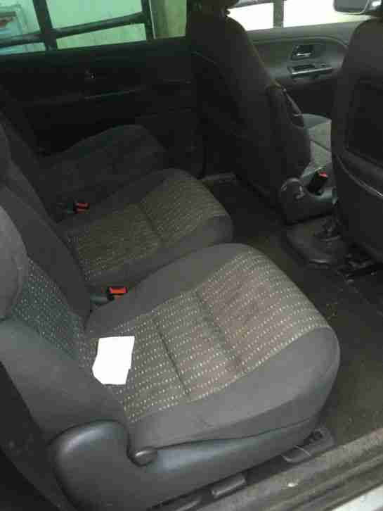 2004 SEAT ALHAMBRA SX TDI 130 SILVER,no mot, spares or repair, good runner,