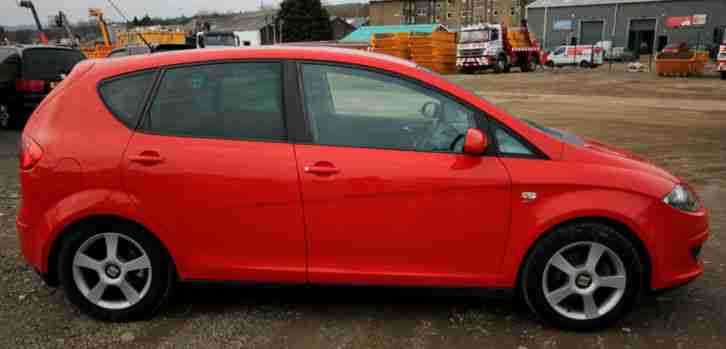 2004 SEAT ALTEA SPORT TDI AUTO RED
