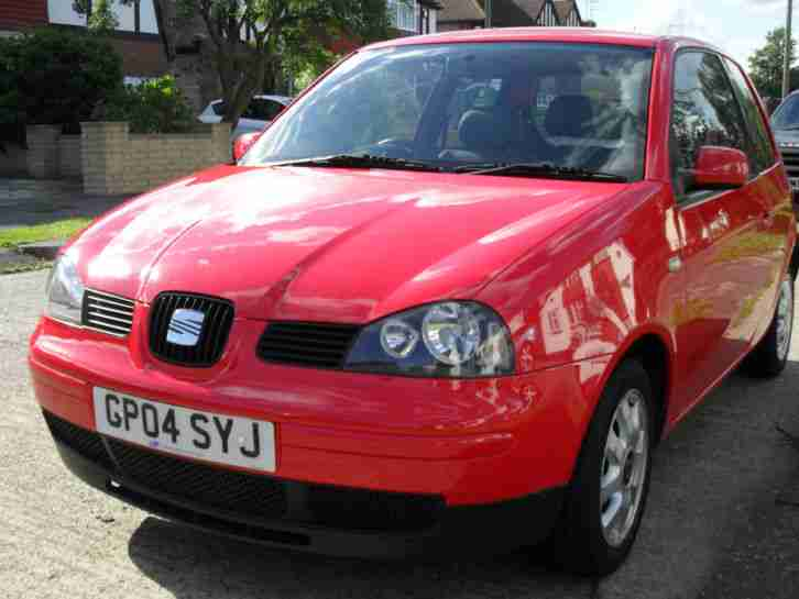 2004 SEAT AROSA S RED