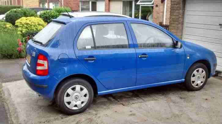 skoda 2004 fabia classic htp blue car for sale. Black Bedroom Furniture Sets. Home Design Ideas