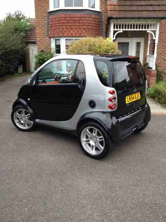 2004 SMART BRABUS AUTO BLACK/SILVER 37k MOT & TAX FEB15