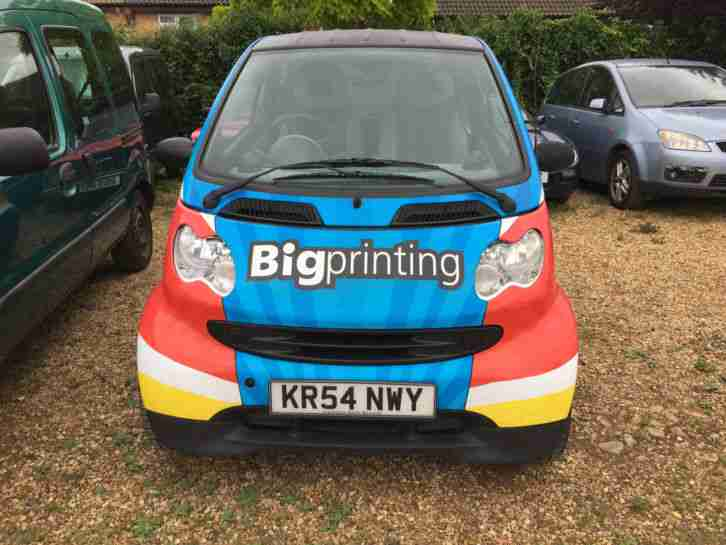 smart 2004 car fortwo pure 50 auto spares or repair car for sale. Black Bedroom Furniture Sets. Home Design Ideas