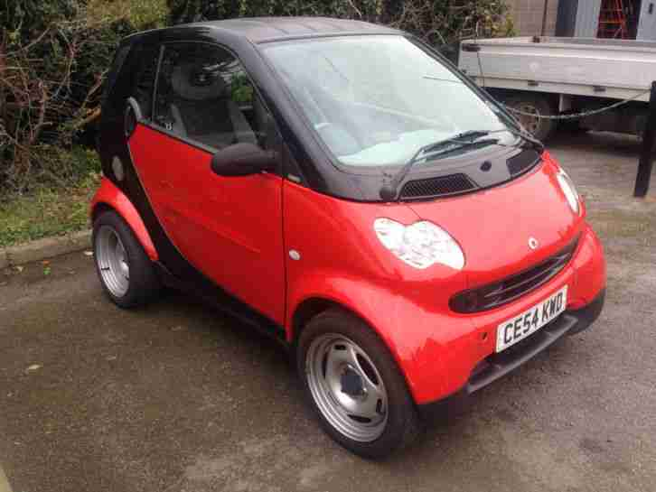 2004 SMART CAR FORTWO PURE COUPE, SEMI AUTO, ONLY 53K MILES, GREAT RUNNER!