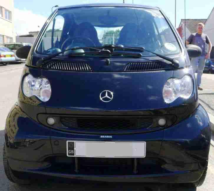 2014 Smart Fortwo Electric Drive Transmission: Smart 2004 CITY BRABUS AUTO BLACK. Car For Sale