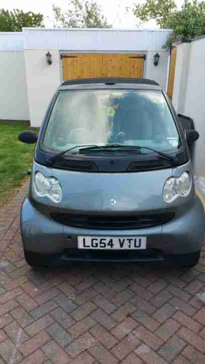 2004 SMART CITY PURE 61 AUTO BLACK CONVERTIBLE