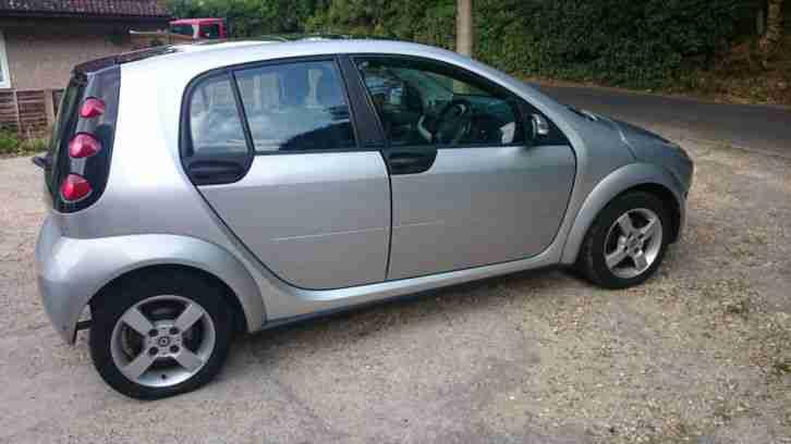 Smart Car Passion Silver Paint