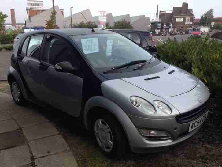 2004 SMART FORFOUR PULSE BLACK 85K MILES BLACK/GREY