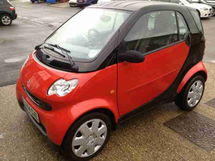 smart 2004 fortwo pure 50 auto black new mot mint car for sale. Black Bedroom Furniture Sets. Home Design Ideas