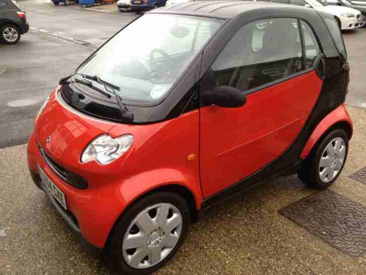 smart 2004 fortwo pure 50 auto black new mot mint car for. Black Bedroom Furniture Sets. Home Design Ideas