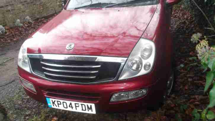 2004 REXTON RX 290S5 TDI RED