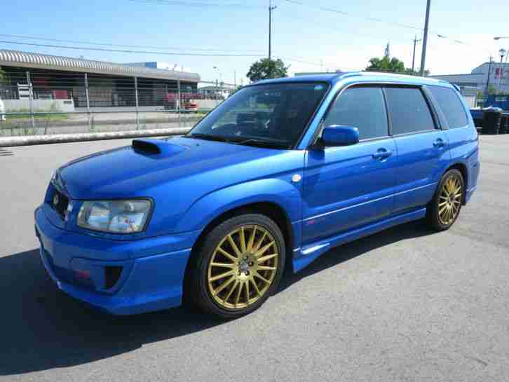 Subaru 2004 Forester Sti 280 Bhp Fresh Import Oz Wheels