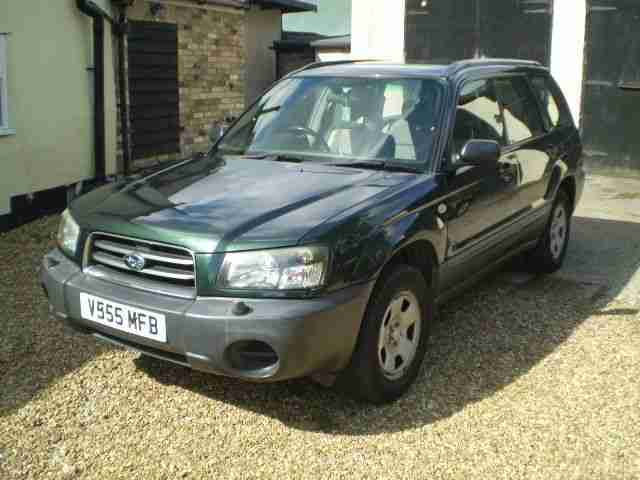 2004 FORESTER X GREEN GREY