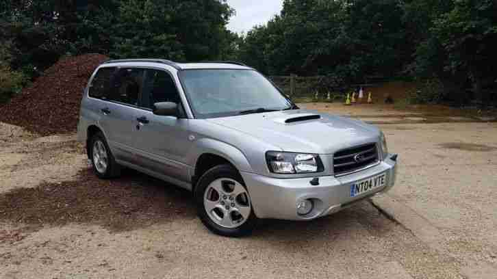 subaru 2004 forester xt turbo silver car for sale. Black Bedroom Furniture Sets. Home Design Ideas