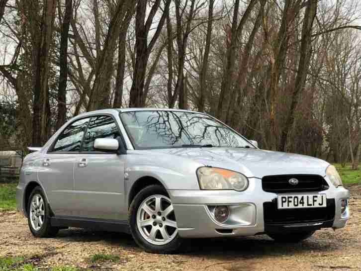 2004 SUBARU IMPREZA 2.0 GX SPORT MANUAL PETROL 4 DOOR SALOON 5 SEATS