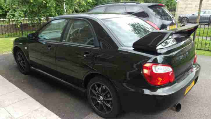 2004 SUBARU IMPREZA WRX TURBO BLACK